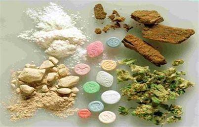 أنواع المخدرات التى يتم الكشف عنها بالتحاليل: