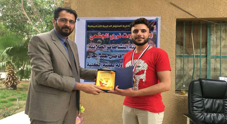 كلية العلوم الطبية التطبيقية تنظم بطولة الشهيد فاضل عبد العال لتنس الطاولة