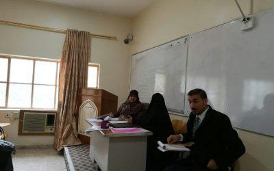 زيارة لجنة GLP المركزية الى مختبرات الكلية